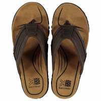 Karrimor Мъжки Джапанки Lounge Mens Flip Flops Brown Мъжки сандали и джапанки