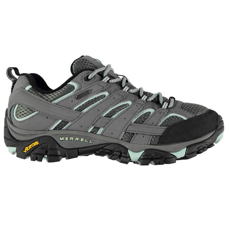 Merrell Дамски Туристически Обувки Gtx Moab 2 Gtx Ladies Walking Shoes  Sedona Sage Дамски туристически обувки 56adaa7babece