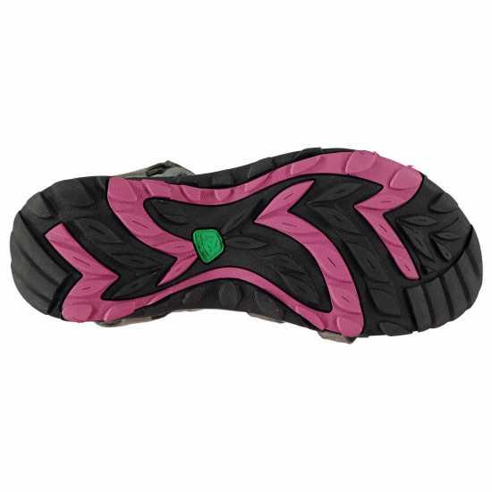 Karrimor Дамски Туристически Сандали Salina Leather Ladies Walking Sandals Charcoal Дамски сандали и джапанки
