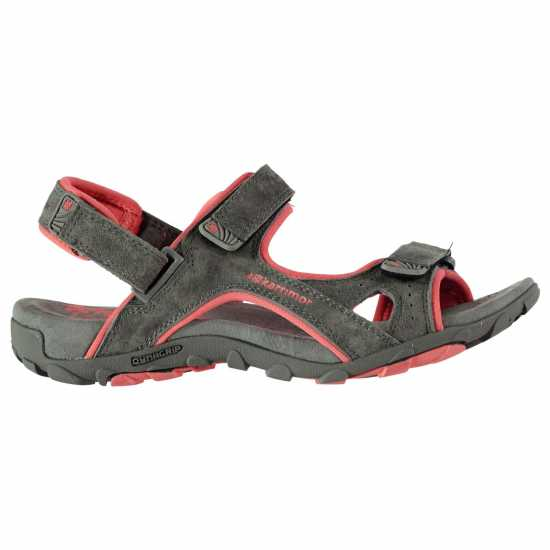 Karrimor Кожени Дамски Сандали Antibes Leather Ladies Sandals Charcoal Дамски туристически сандали