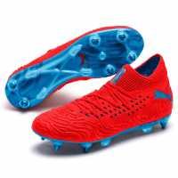 Puma Future 19.1 Mens Sg Football Boots RedBlast/Blue