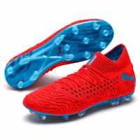 Puma Future 19.1 Mens Fg Football Boots RedBlast/Blue