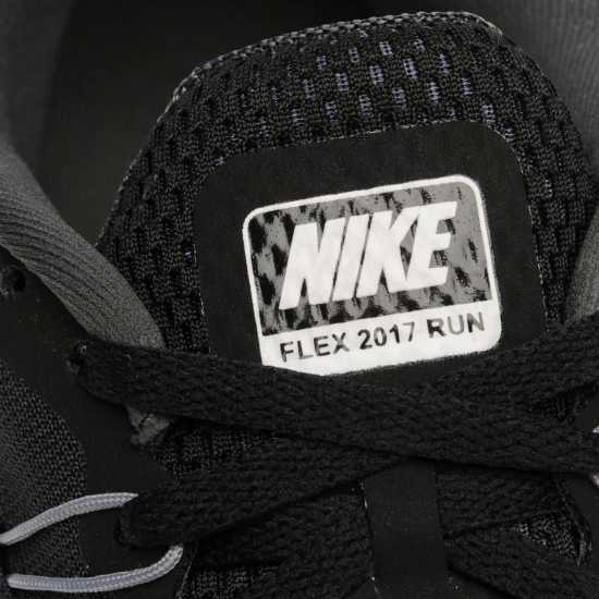 Nike Мъжки Маратонки За Бягане Flex 2017 Rn Mens Running Shoes Black/White Мъжки маратонки