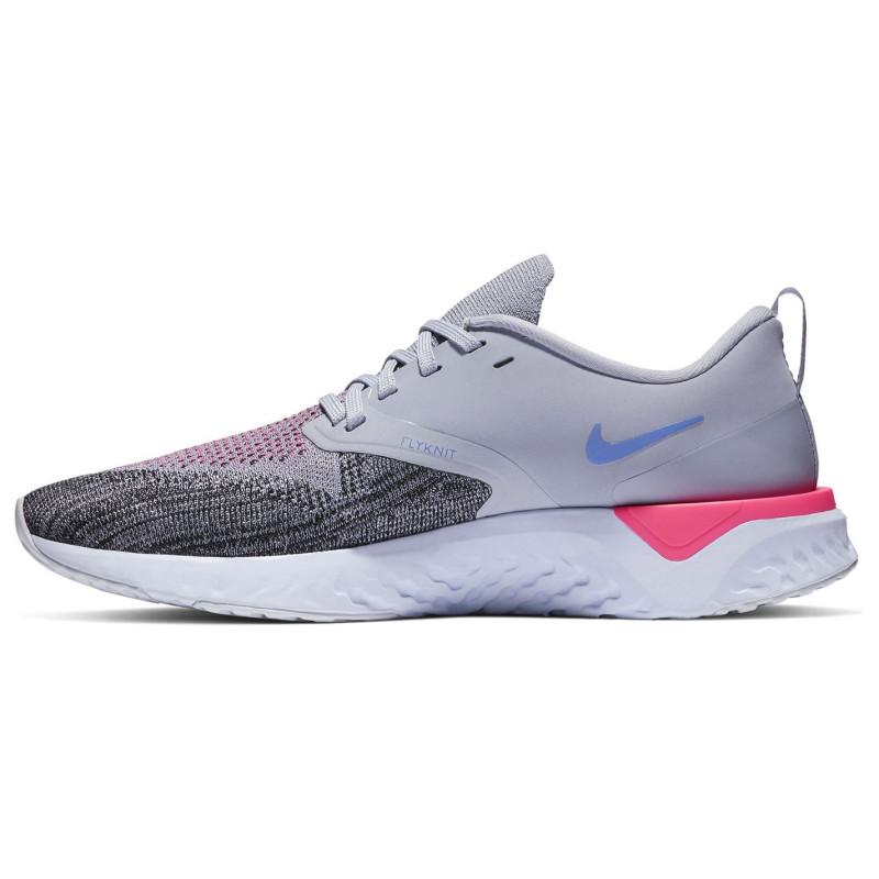 6bacf7115e7 Nike Дамски Маратонки За Бягане Odyssey React Flyknit 2 Ladies Running  Shoes Blue/Purple Дамски