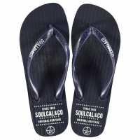 Soulcal Мъжки Джапанки Maui Flip Flops Mens Navy Мъжки сандали и джапанки