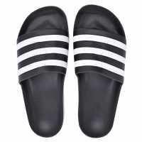 Adidas Мъжки Чехли Adilette Aqua Slide Mens Sandals Black/White Мъжки сандали и джапанки