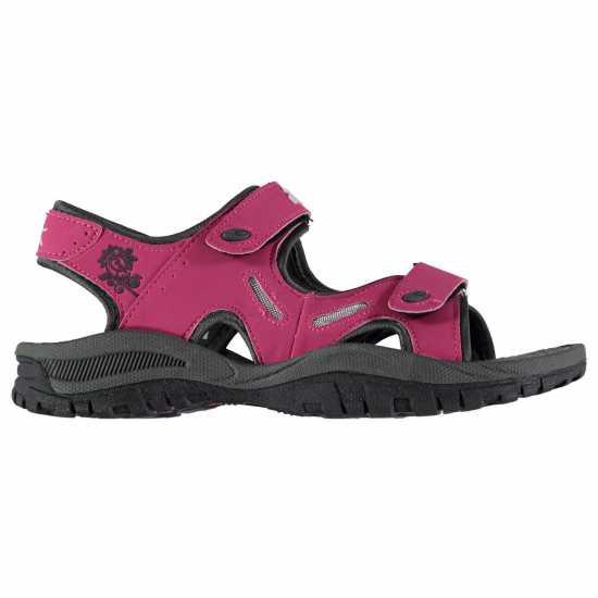 Slazenger Wave Sandal Lds 73 Raspberry Дамски сандали и джапанки