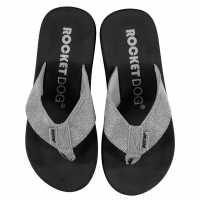 Rocket Dog Дамски Джапанки Adios Flip Flops Ladies Odyssey Silver Дамски сандали и джапанки