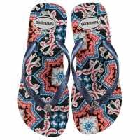 Havaianas Gracia Ladies White/Navy 0052 Дамски сандали и джапанки