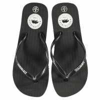 Soulcal Дамски Джапанки Maui Ladies Flip Flops Black Дамски сандали и джапанки