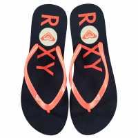 Roxy Дамски Джапанки Logo Flip Flops Ladies  Дамски сандали и джапанки