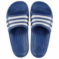 Adidas Duramo Junior Sliders Blue/White Детски сандали и джапанки