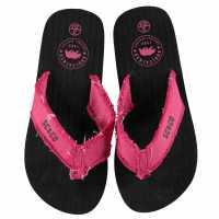 Soulcal Джапанки Kapas Juniors Flip Flops Black/Pink Детски сандали и джапанки