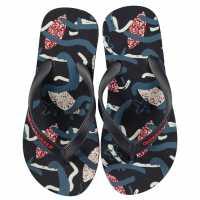Quiksilver Джапанки Fun Times Flip Flops Junior Boys Blue Night Детски сандали и джапанки