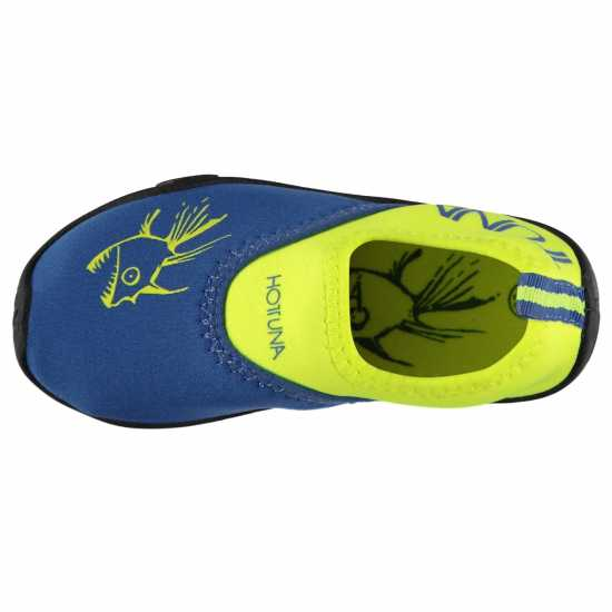 Hot Tuna Childrens Aqua Water Shoes Royal/Lime Детски сандали и джапанки