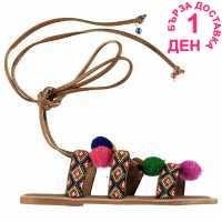 Soulcal Дамски Сандали Pom Pom Ladies Sandals Multi Дамски сандали и джапанки