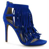 Steve Madden Fringe Stilettos Royal Blue Дамски обувки
