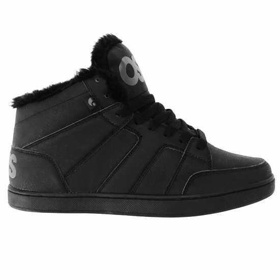 Мъжки Скейт Маратонки Osiris Vans Atwood Oxford Skate Shoes Mens Black CC Мъжки маратонки