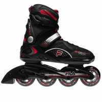 Fila Мъжки Ролери Primo Comp Inline Skates Mens Black/Red Мъжки ролкови кънки