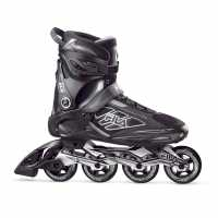 Fila Мъжки Ролери Primo Alu 80 Inline Skates Mens Black/Grey Мъжки ролкови кънки
