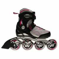 Rollerblade Дамски Ролери Runner Formula 90 Ladies Inline Skates Black/Purple Дамски ролкови кънки