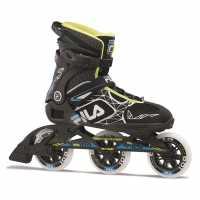 Fila Мъжки Ролери Legacy Pro100 Mens Inline Skates Blk/Blue/Lime Мъжки ролкови кънки