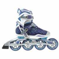 Fila Дамски Ролери Plume X Wrap Ladies Inline Skates Purple/Blue Дамски ролкови кънки