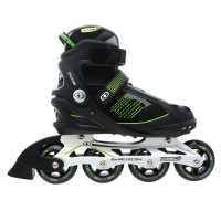 No Fear Мъжки Ролери Cyclone Mens Skates Black/Green Мъжки ролкови кънки