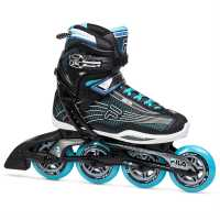 Fila Дамски Ролери Plume 90 Inline Skate Ladies Black/Blue Дамски ролкови кънки