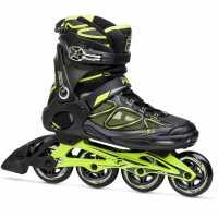 Fila Мъжки Ролери Primo Air Inline Skates Mens Black/Lime Мъжки ролкови кънки