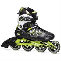Fila Дамски Ролери Primo Air Inline Skates Ladies Black/Lime Дамски ролкови кънки
