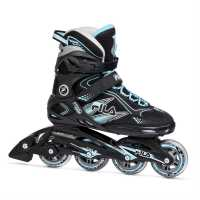 Fila Дамски Ролери Primo Comp Inline Skates Ladies Black/Blue Дамски ролкови кънки