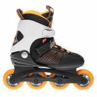 K2 Ролери Alexis 80 Inline Skates Black/Orange Мъжки ролкови кънки