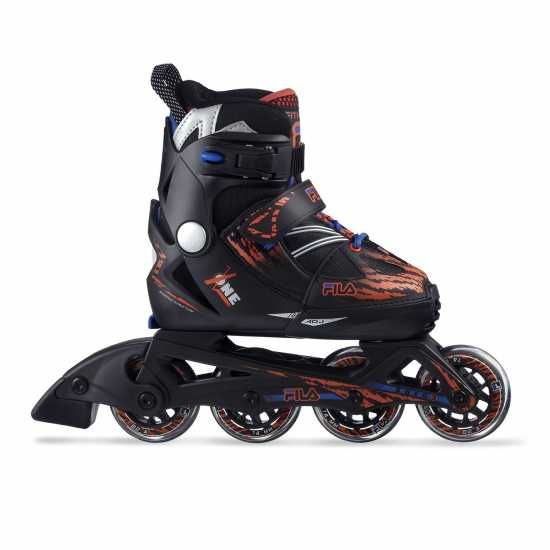 Fila Ролери X One Inline Skates Junior Boys Black/Org/Blue Детски ролкови кънки