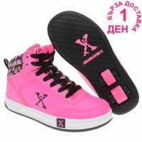 Sidewalk Sport Скейт Обувки За Момичета Hi Top Girls Skate Shoes Pink Маратонки с колелца