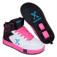Sidewalk Sport Скейт Обувки За Момичета Hi Top Girls Skate Shoes White/Blk/Pink Детски високи кецове