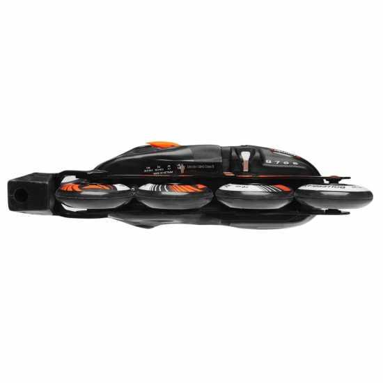 Rollerblade Детски Ролери Spitfire Lx Alu Junior Inline Skates Black/Orange Детски ролкови кънки