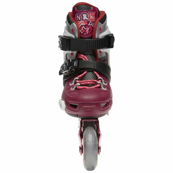 Fila Nrk Inline Skares Junior Girls Black/Magenta Детски ролкови кънки