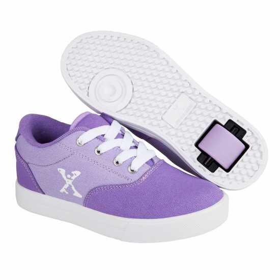 Sidewalk Sport Скейт Обувки За Момичета Canvas Girls Skate Shoes Purple/Lilac Маратонки с колелца