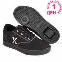 Sidewalk Sport Детски Скейт Кецове Canvas Childrens Skate Shoes Black Детски маратонки