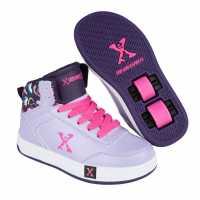 Sidewalk Sport Кецове Girls Hi Tops Purple/Lilac Маратонки с колелца