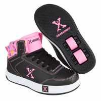 Sidewalk Sport Кецове Girls Hi Tops Black/Pink Маратонки с колелца