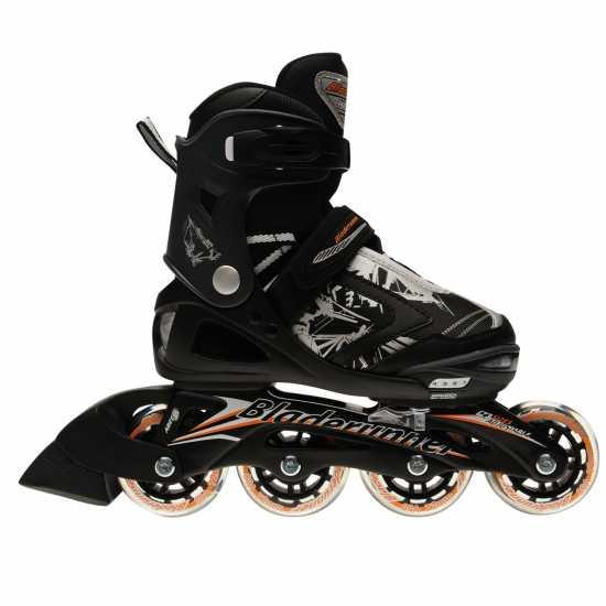 Rollerblade Детски Ролери Runner Phaser Flash Junior Inline Skates Black/Orange Детски ролкови кънки