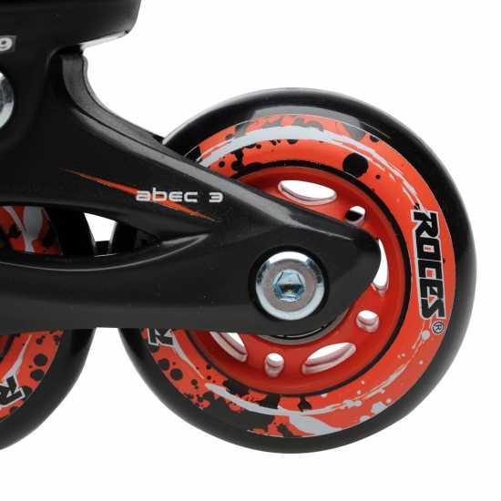 Roces Compy 6.0 Jnr00 Black/Red Детски ролкови кънки