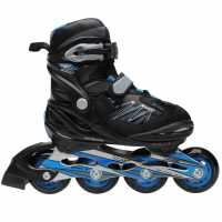 Roces Детски Ролери Boy 5.0 Junior Inline Skates Black/Blue Детски ролкови кънки