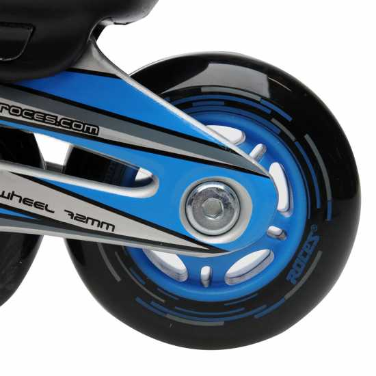 Roces Moody 5.0 Jnr00 Black/Blue Детски ролкови кънки