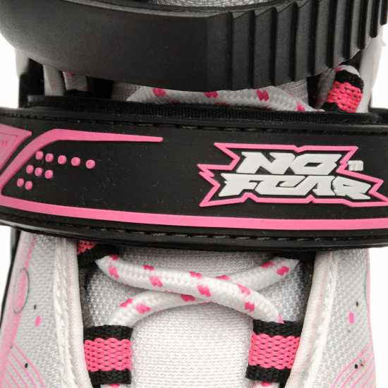 No Fear Детски Ролери Spirit Skate Black/Wht/Pink Детски ролкови кънки