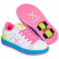 Sidewalk Sport Sport Lane Girls White/Pink/Blue Детски маратонки