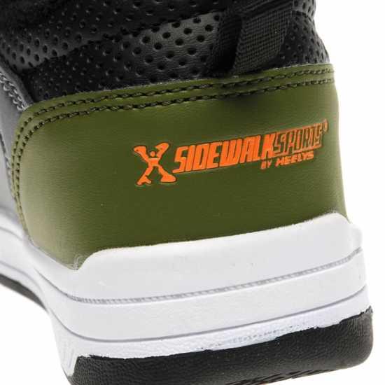 Sidewalk Sport Street Childrens Grey/Orange/Grn Маратонки с колелца