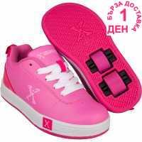 Sidewalk Sport Маратонки С Колелца Lane Girls Wheeled Skate Shoes Pink Детски маратонки